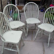 4 chairs restoration